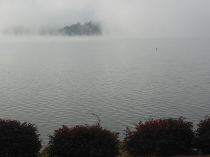 Early morning mist on Lake of the Ozarks