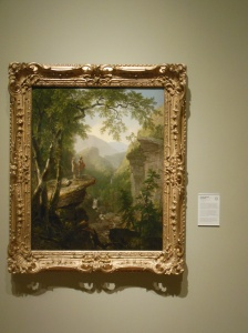 """Kindred Spirits"" by Asher Brown Durand at Crystal Bridges"