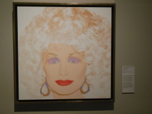 """Dolly Parton"" by Andy Warhol at Crystal Bridges"