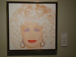 """Dolly Parton"" by Andy Warhol at Crystal Bridges"