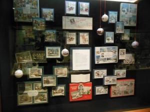 Display at Hallmark Visitor Center