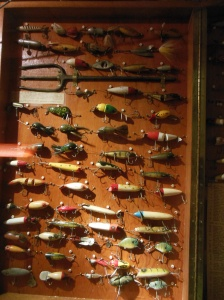 part of the fishing tackle collection