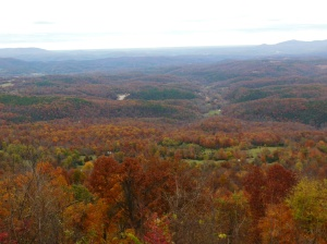 Ozarks, Boston Mountains and Buffalo River