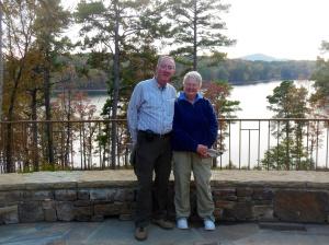 Chris and Ed at Garvan Woodland Gardens