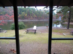 View of Lake Catherine from back  porch