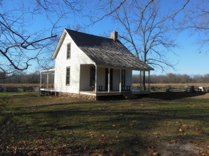 George Washington Carver's home as a child