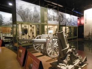Exhibit at WWI Museum