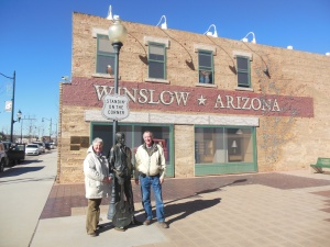 Standin on the corner in Winslow AZ