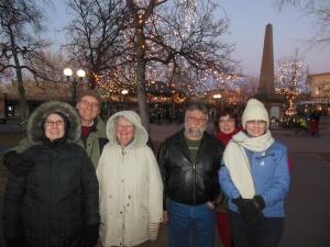 At Santa Fe Plaza