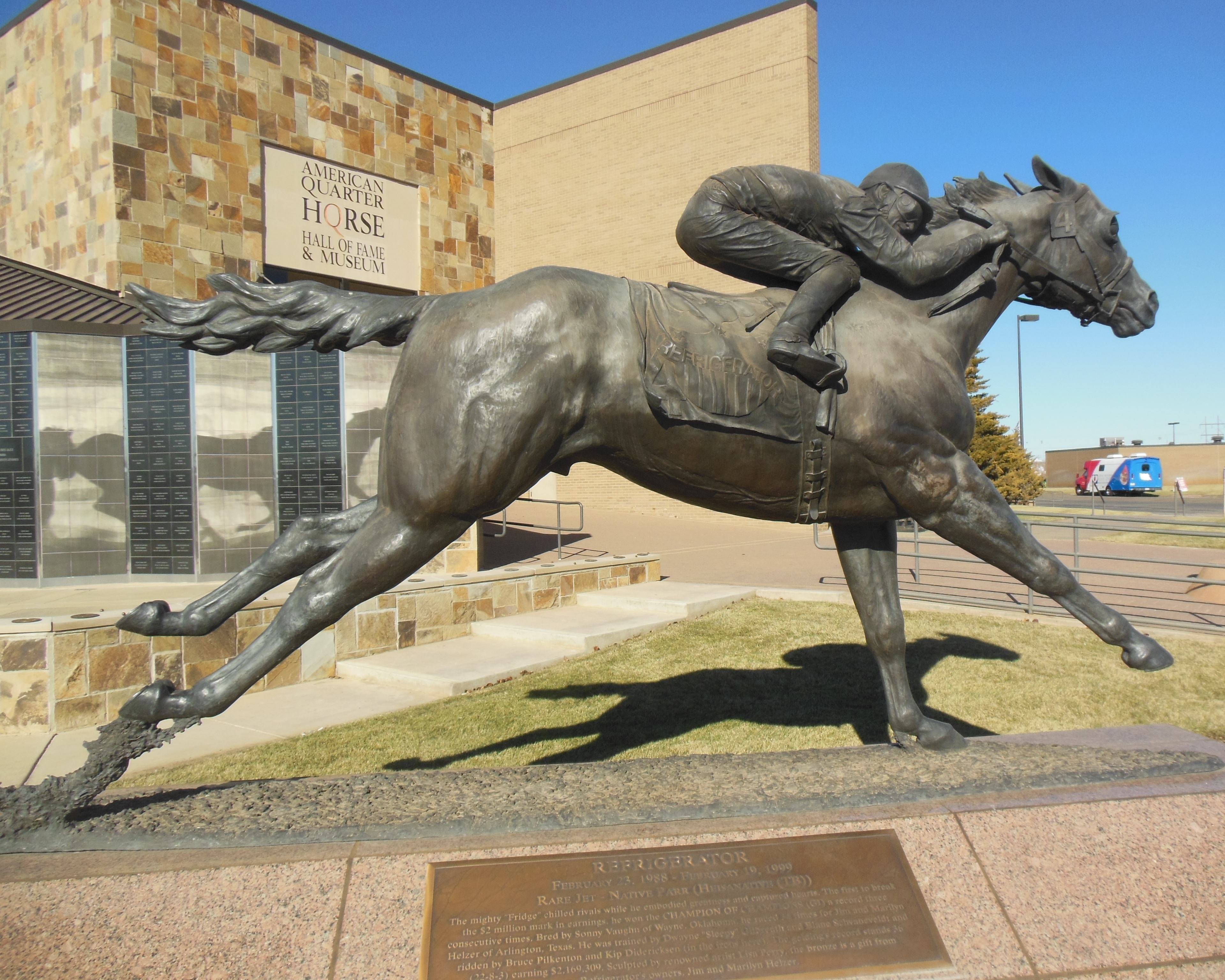 American Quarter Horse Museum And Hall Of Fame | Chris And ...