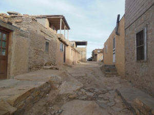 Homes in the Acocma Pueblo