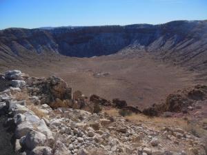 Meteor Crater , Winslow AZ