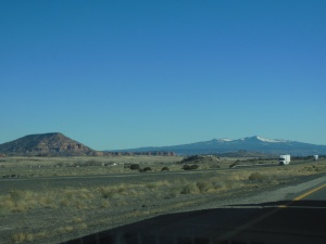 On the road in New Mexico