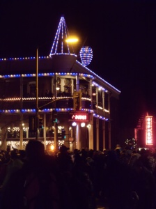 Pine Cone Drop in downtown Flagstaff
