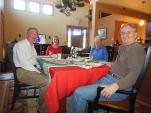 New Year's Day dinner