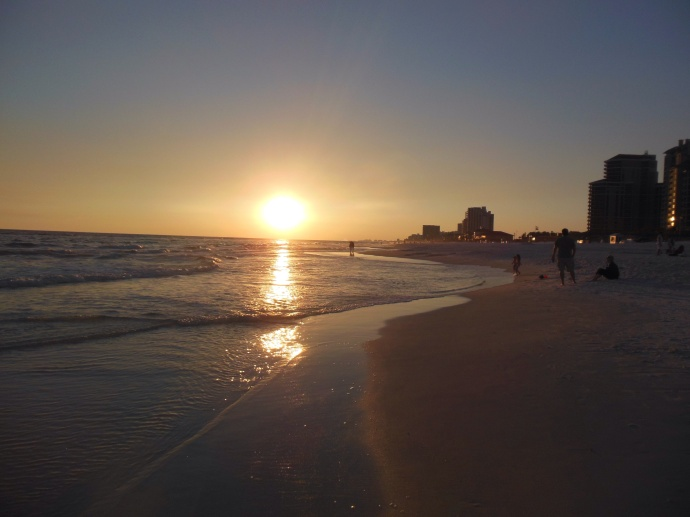 Sunset is coming to Sandestin