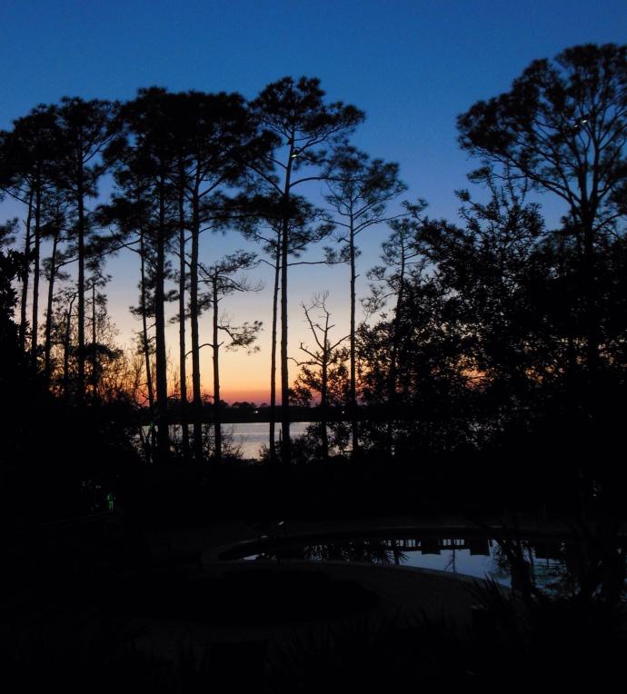 Sunset on bay side