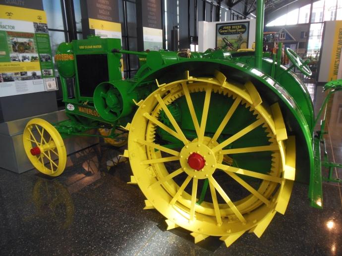 WWI era Deere tractor