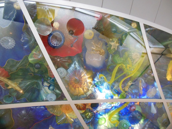 Chihuly glass at Norton museum