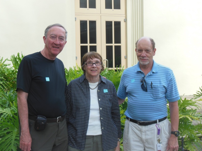 Ed, Chris, Nelson at Norton museum