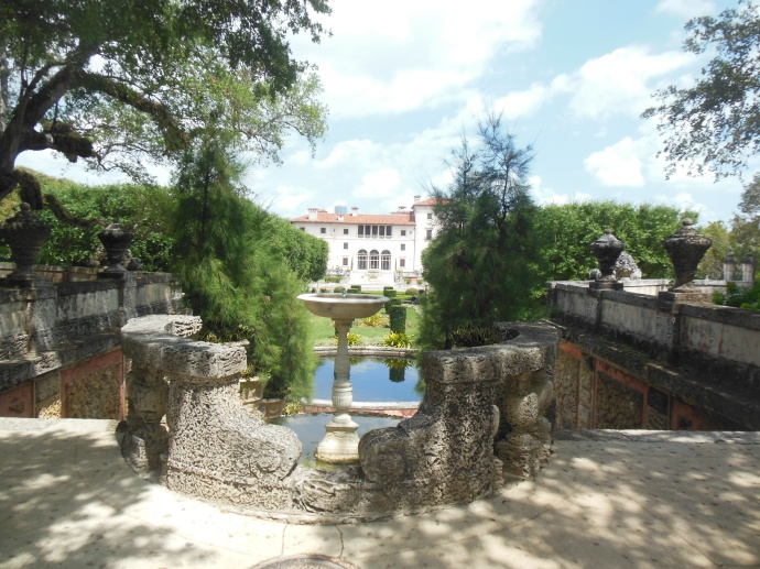 Vizcaya from the gardens