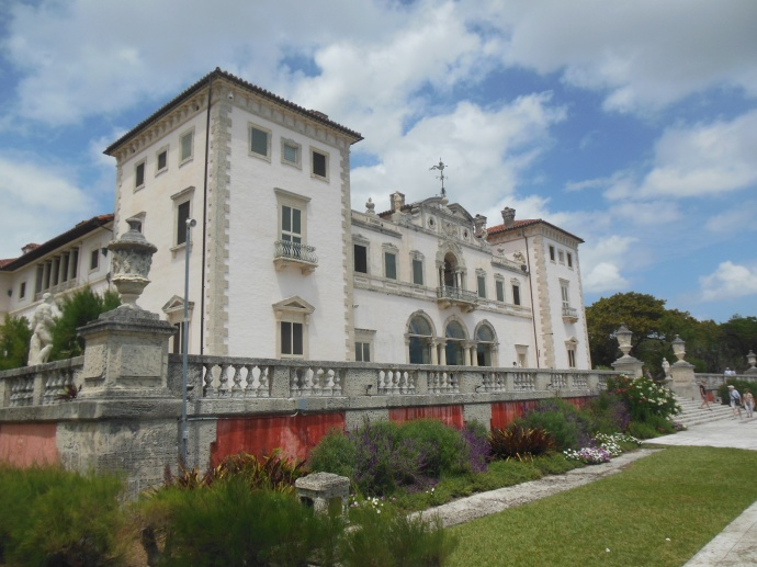 Vizcaya from the bay side