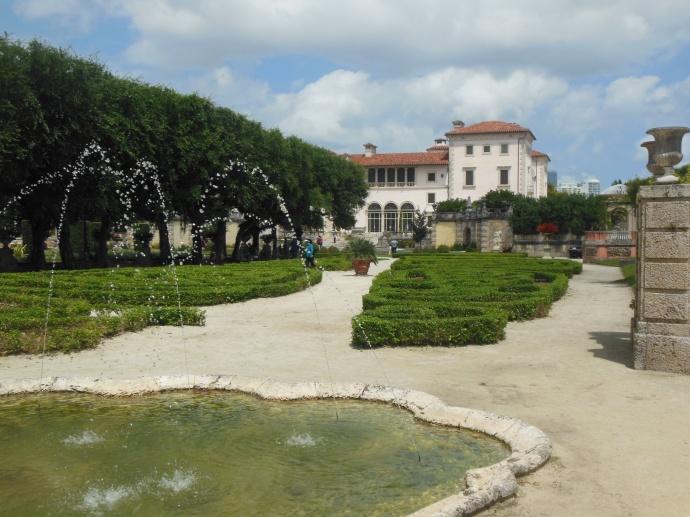 Vizcaya and gardens