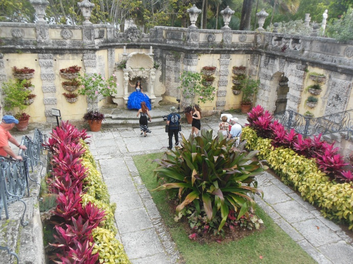 Secret garden with photo shoot