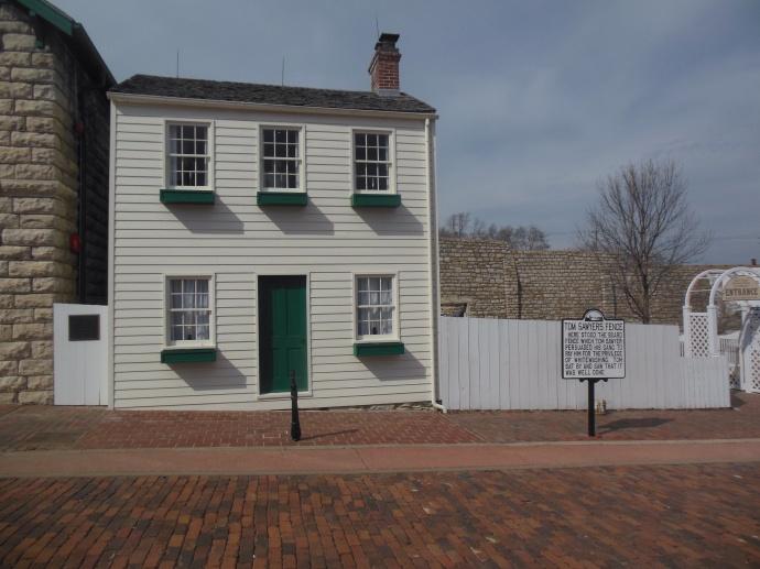 Mark Twain boyhood home,Hannibal MO