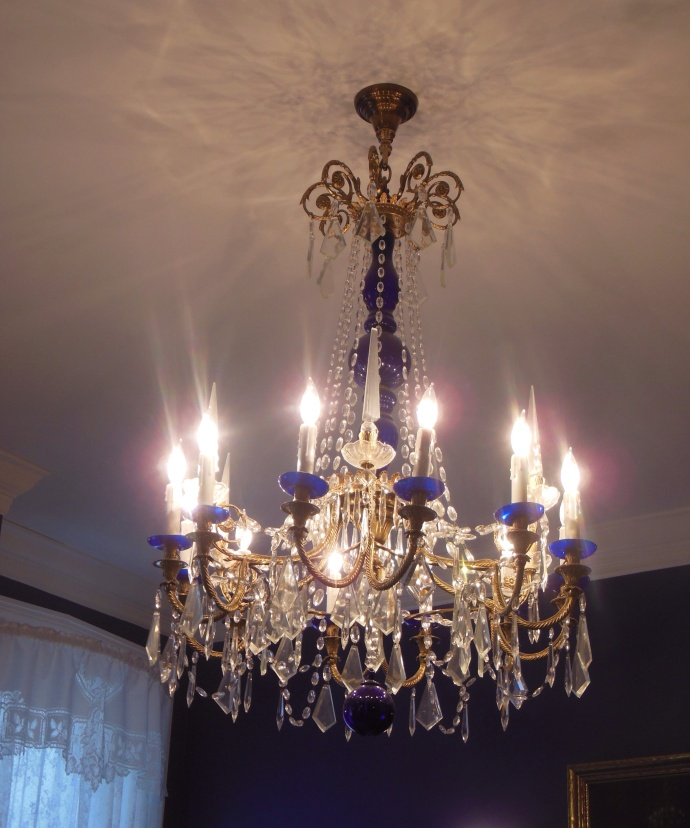 Chandelier in B and B