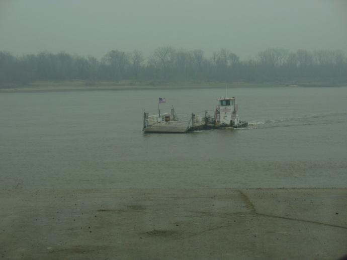Ste Genevieve-Modoc ferry