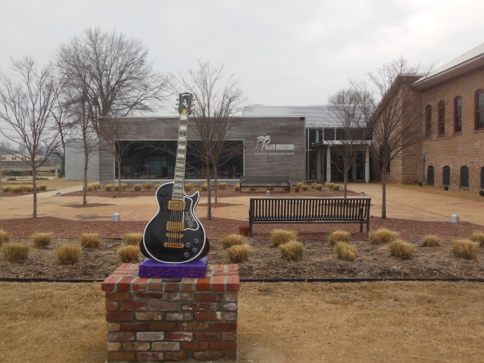 B.B. King museum in Indianola MS