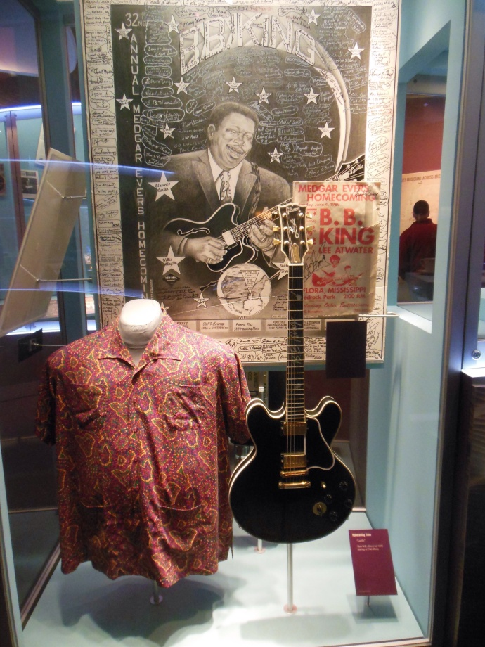 In the B.B. King Museum