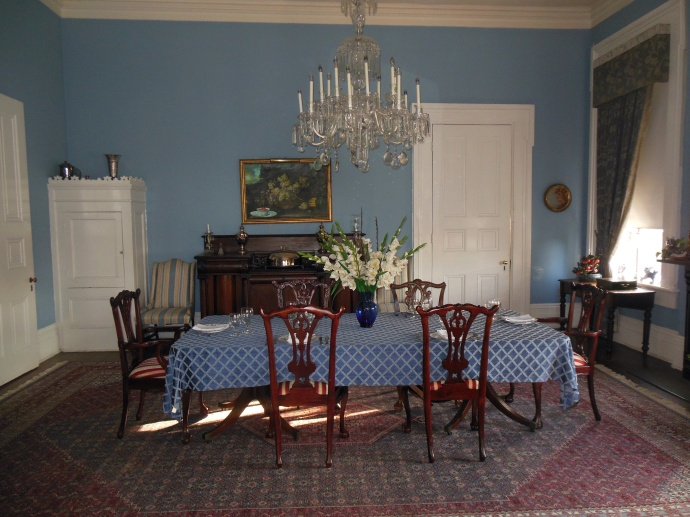 dining room Duff Green Mansion