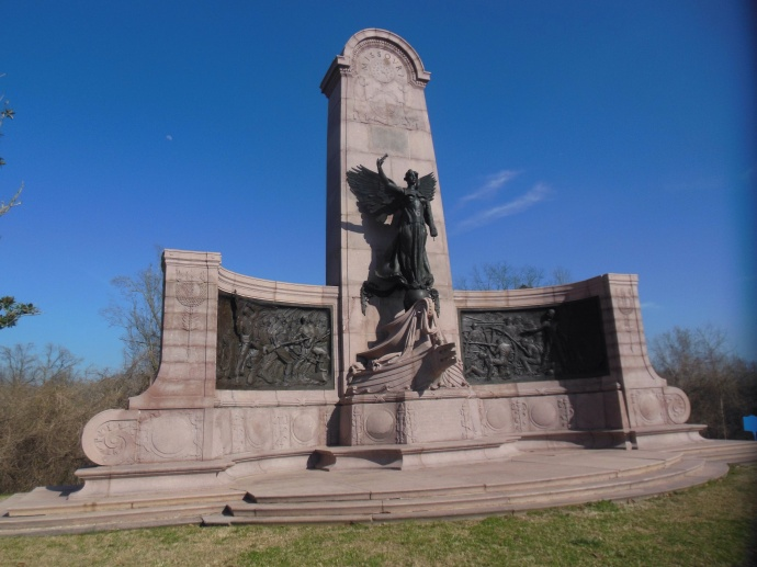 Missouri brothers vs brothers monument: MO had many troops on each side of the battle
