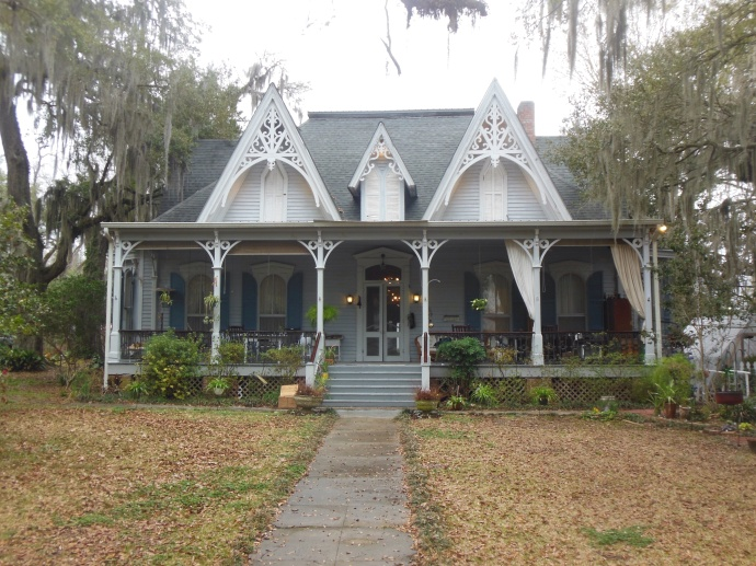 The St.  Francisville Inn, our B and B