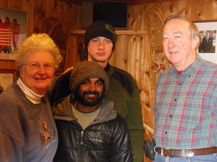 Chris,  Colin, Greg, and Ed