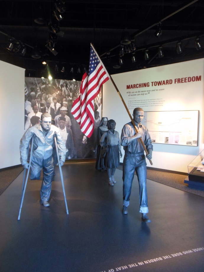 Portrayal of the March 21-25 Selma to Montgomery march