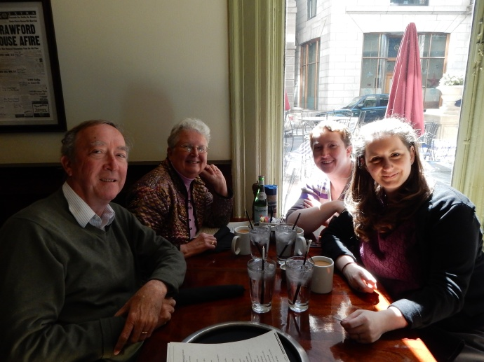 Easter  Brunch at Scollay Square