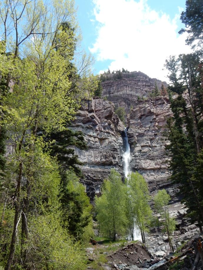 Cascade Falls in Ouray, CO