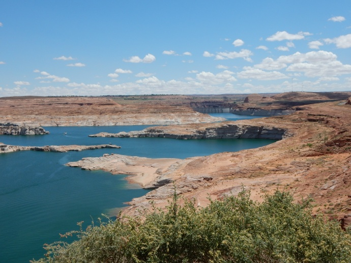 Lake Powell and Glen Canyon dam