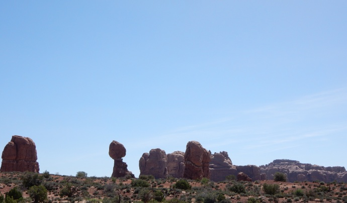 Balancing Rock in Arches NP