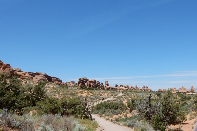 Hike to Landscape arch