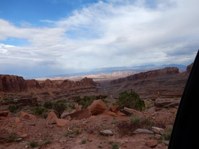 Moab area vista