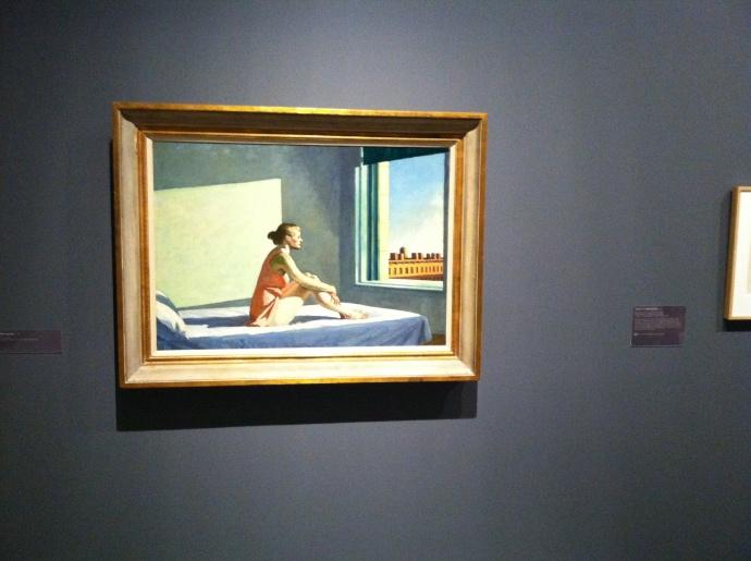 Edward Hopper painting at Walker Art Center