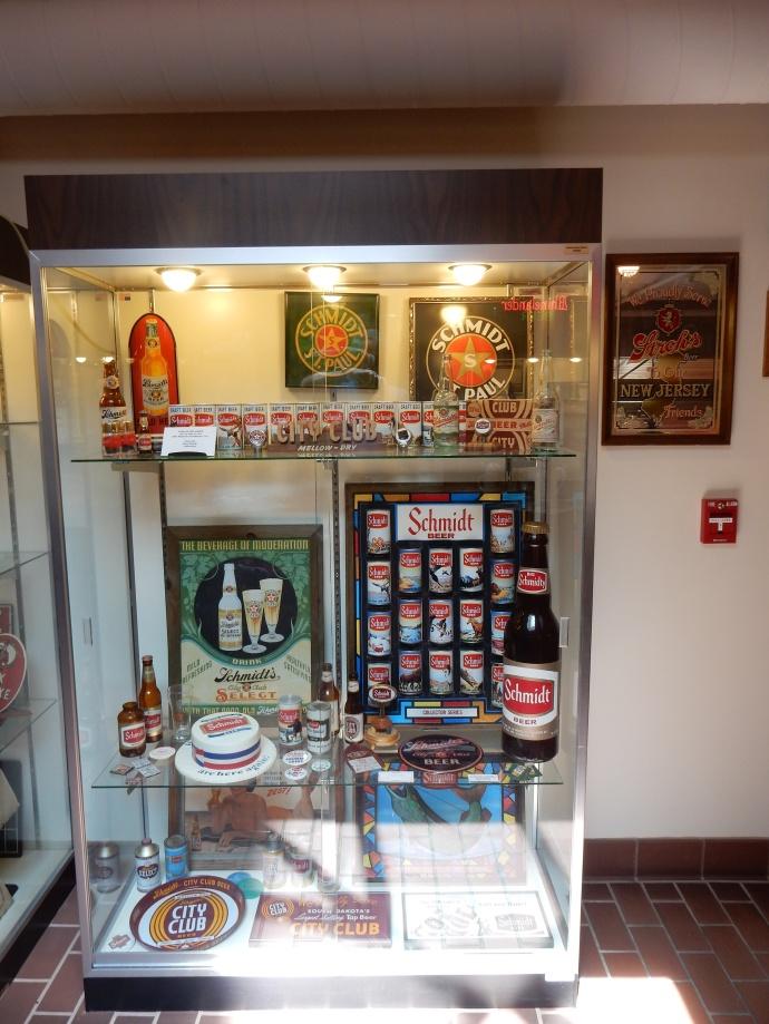 Jacob Schmidt Brewery display
