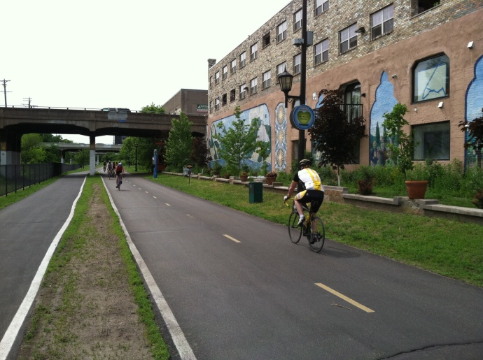 Midtown Greenway in Minneapolis