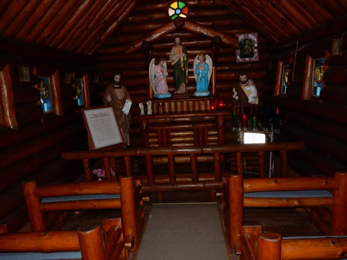 St. Jude's Shrine at Rudolph Grotto