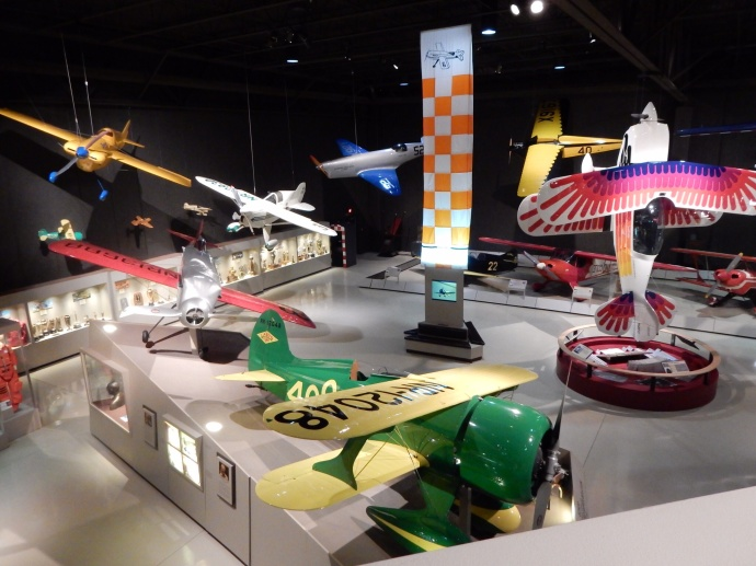 The EAA museum in Oshkosh