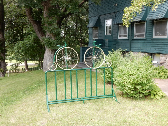 Unique bike racks